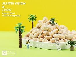 微缩小人零食坚果海报拍摄|电商摄影|上海魔摄视觉