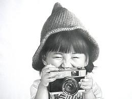 EveXu-童真-素描-《大笑》-补发