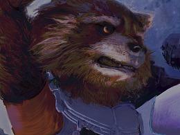 漫威  火箭浣熊
