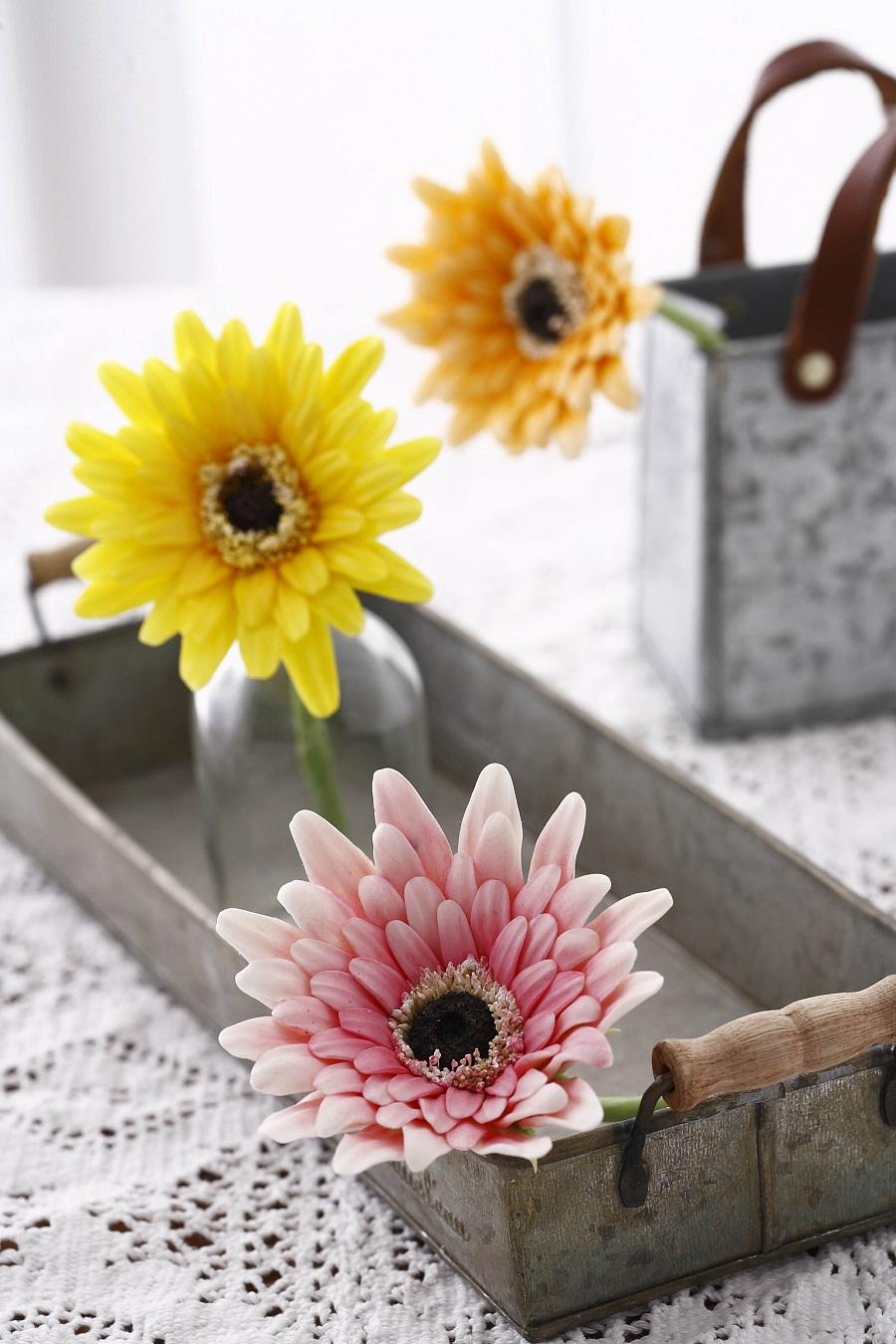 原创作品:粘土花卉图片