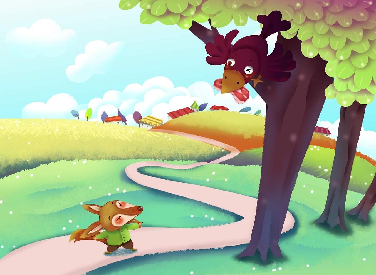 故事绘本 狐狸与乌鸦