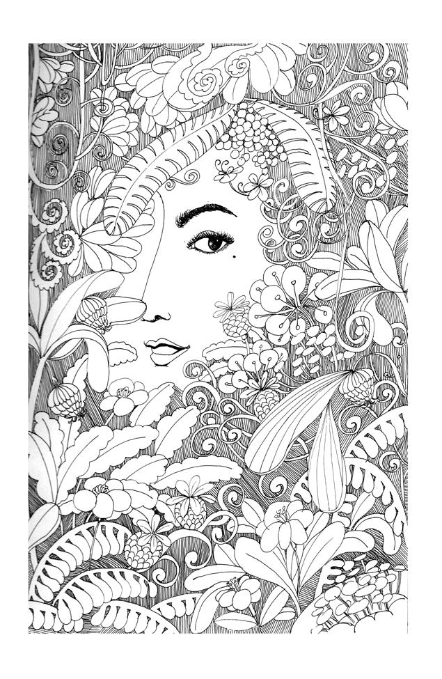 黑白线条|插画|商业插画|xiaoxiaoaixiaobo - 原创图片