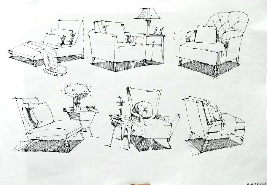 建筑/室内手绘