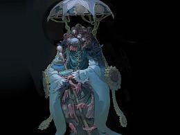 藝數繪角色講師鐘風華新課堂范畫《孟婆》