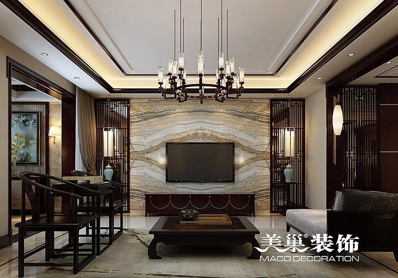 完美的v风格风格,林溪湾270平别墅新中式市政传住宅上海研究院规划设计图片