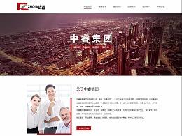 投资控股集团网站建设