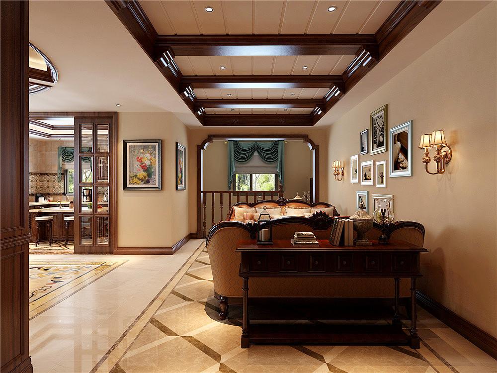 昆明别墅装修美式世家装修效果图营口博园出售别墅风格图片
