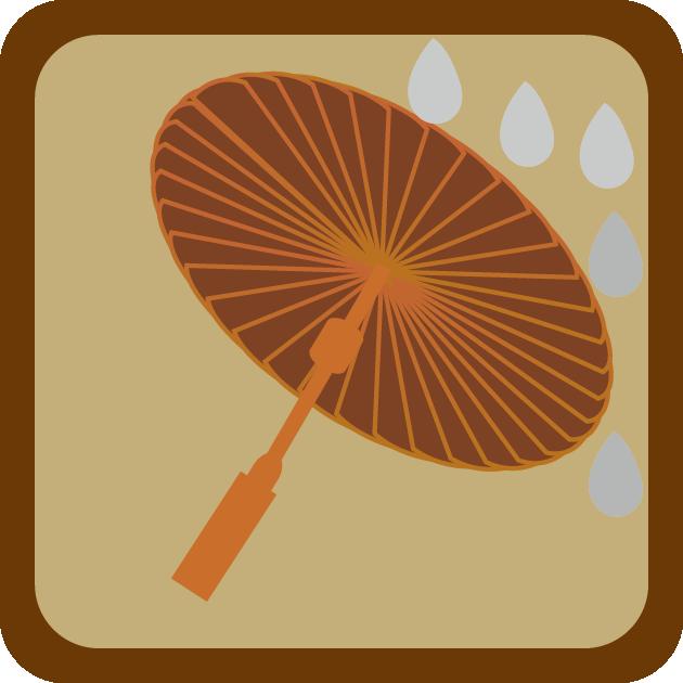 创意图标-中国风手机图标系列算盘-计算器,油纸伞-天气,老黄历-日历
