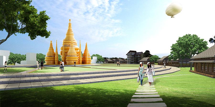 勐远绿道项目投标方案|园林景观\/规划|空间\/建