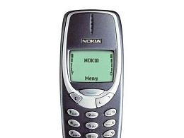 诺基亚3310手机展示