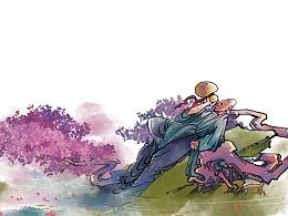 中国风人物插画