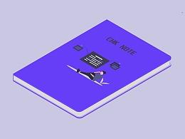 2.5D笔记本