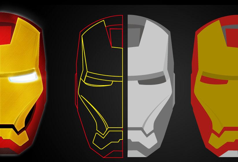 the 钢铁侠-.-|图案|平面|sdcamper - 原创设计作品图片