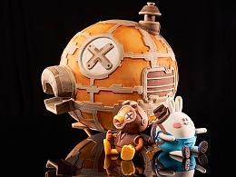 巧克力与翻糖《XX鸭蒸汽朋克模型》