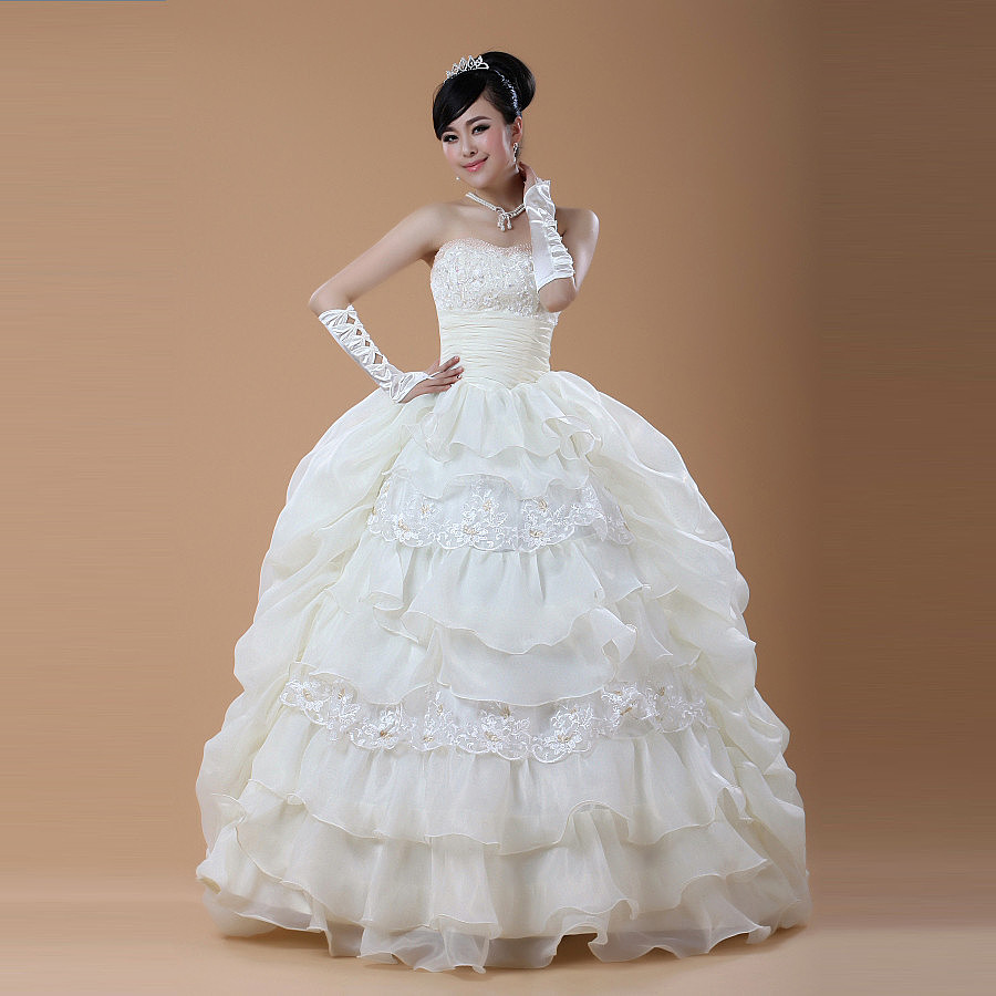 婚纱素材图片