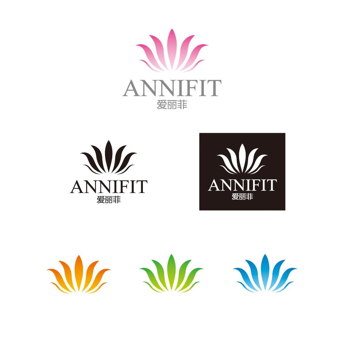 一款女性用品品牌logo提案,客户制定要百合花的图案图片