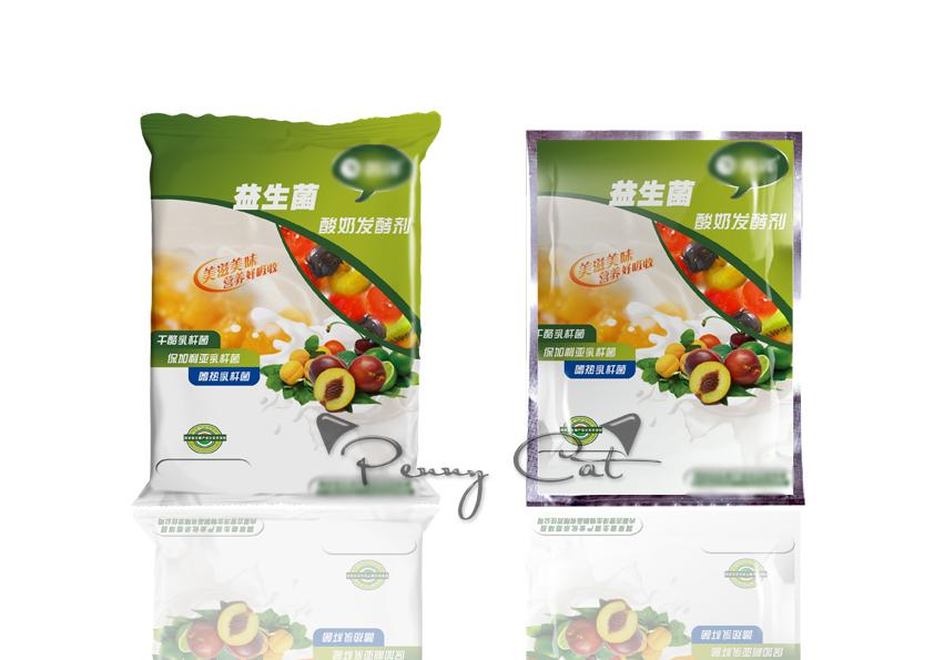 益生菌酸奶发酵剂飞机袋o(╯□╰)o|包装|平面|penny