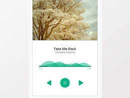melon音乐app界面