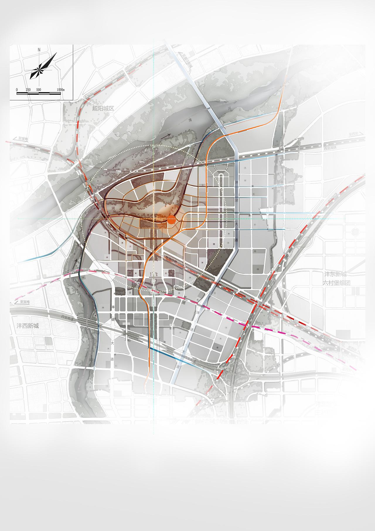 建筑效果图和分析图