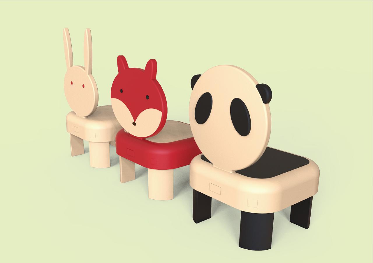 儿童diy座椅