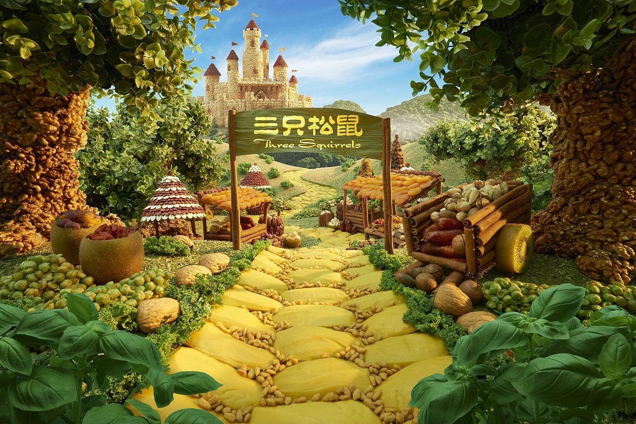 三只松鼠《芝麻开门篇》广告图片