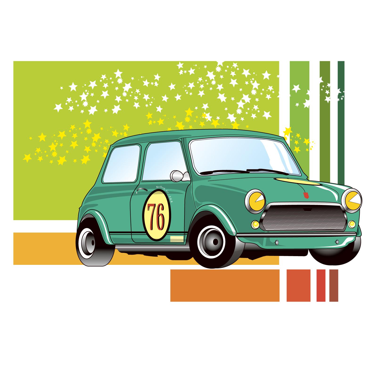 卡通动画公安车图片