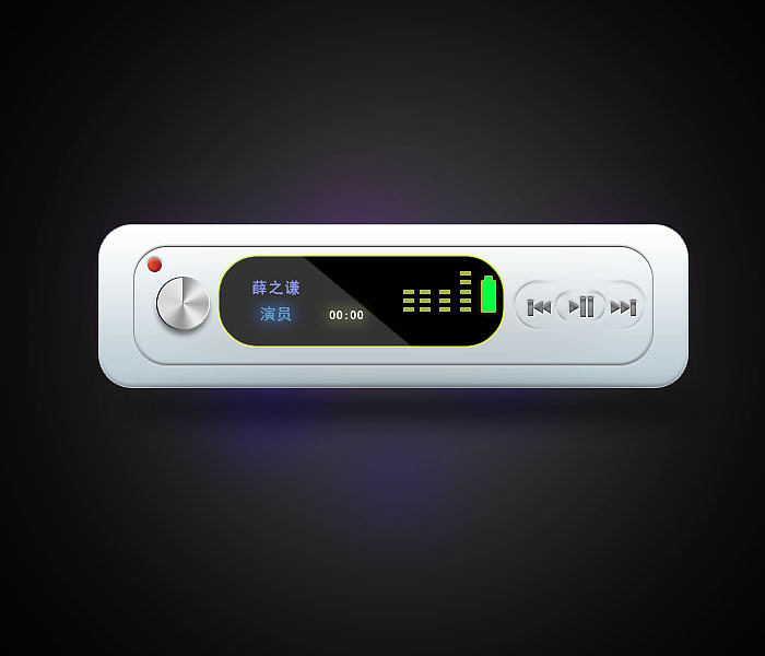 临摹练习2,音频播放器图片