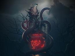 《贪婪洞窟2》克苏鲁的苏醒CG宣传图