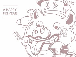 欢乐的猪年