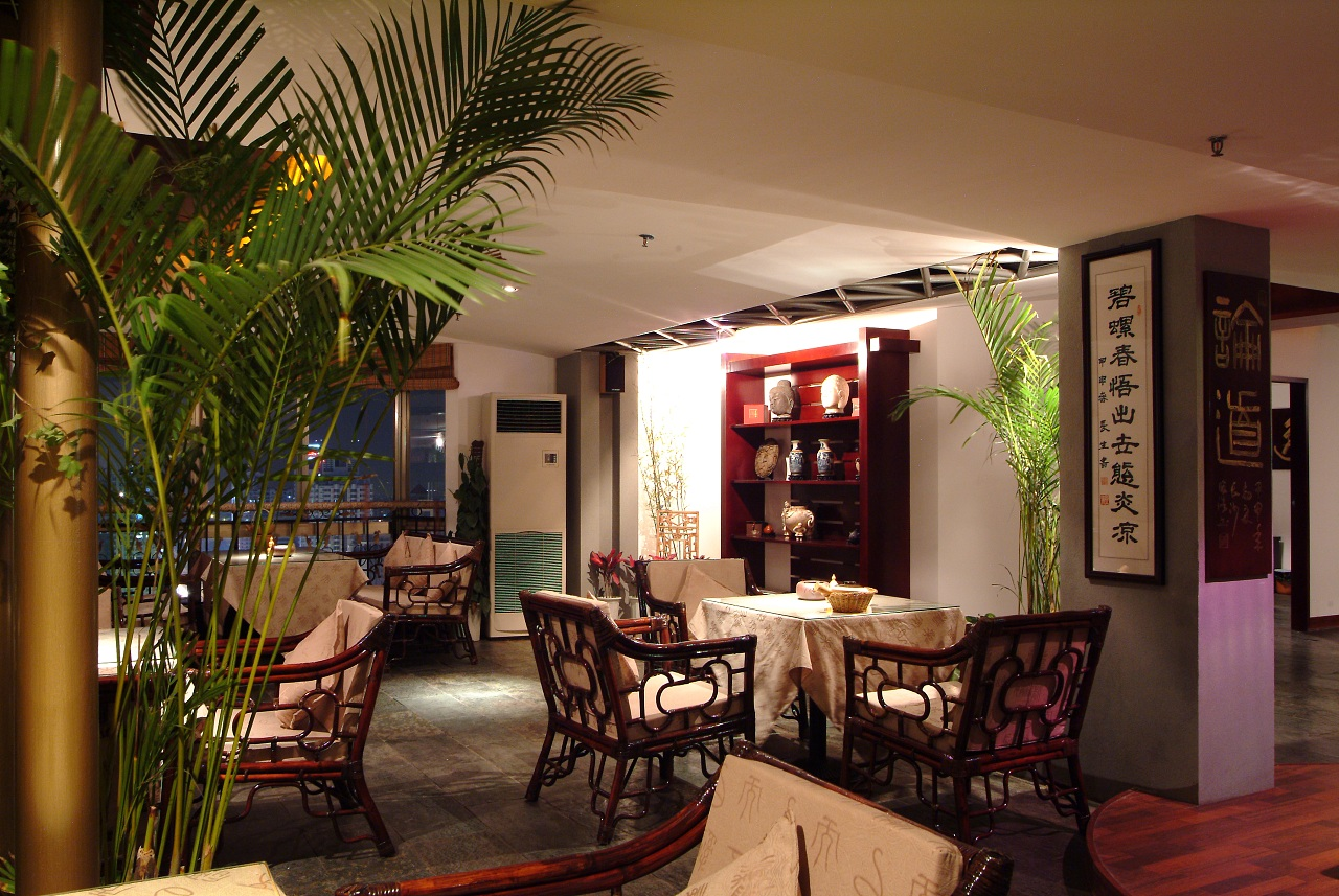 武威中式茶楼装修设计武威最茶楼的苹果装修设计专业喷绘广告六合无绝对片