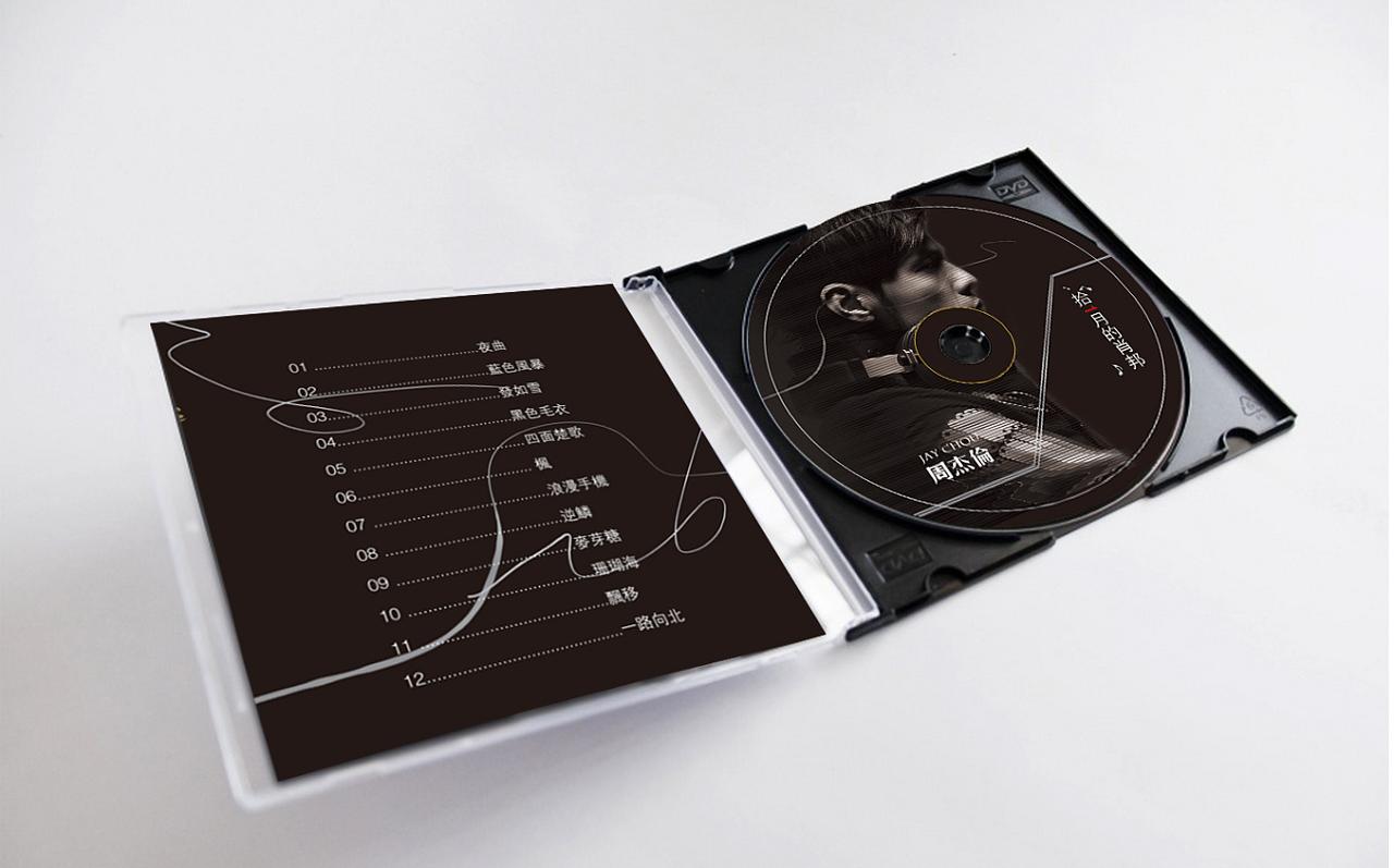重温十一月的肖邦,JAY CD 专辑封面