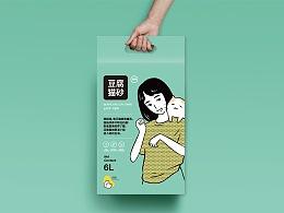 欧庄-猫砂包装设计
