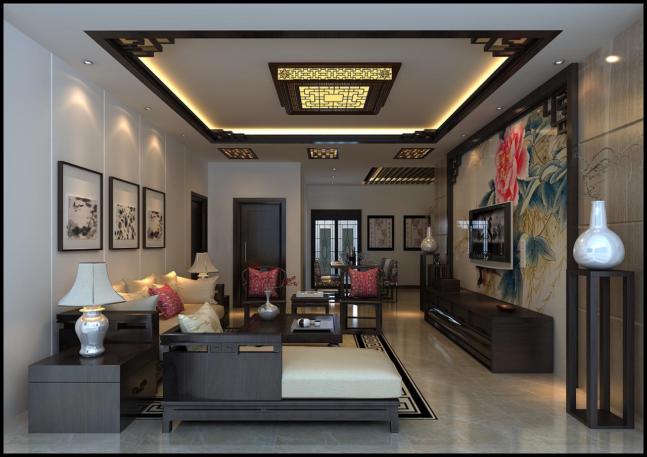中式设计|空间|室内设计|本末艺术设计 - 原创作品