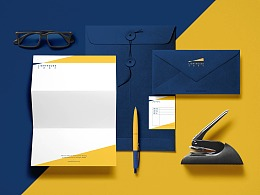 现代简约时尚金融投资公司整体品牌形象设计
