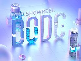 2020 SHOWREEL   微博BODC