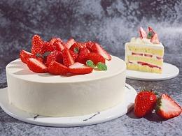 日式奶油蛋糕系列|玫瑰蛋糕&玫珑蜜瓜蛋糕&草莓蛋糕