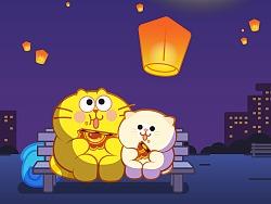 蛋黄猫的月饼节