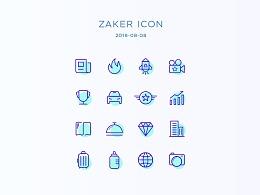 ICON练习+ZAKER:订阅频道图片重构