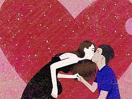 还是继续相信爱情吧!插画记录