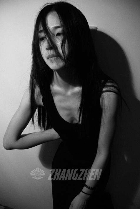 黑白-素颜-简单|人像|摄影|zzzm