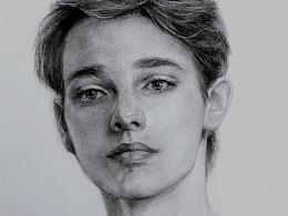 素描——人物绘画作品分享