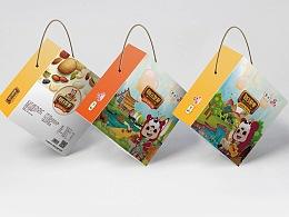 中粮集团福小满品牌燕麦包装设计