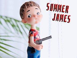 【物游|原创】 2019 BTS限定品 ——Summer James