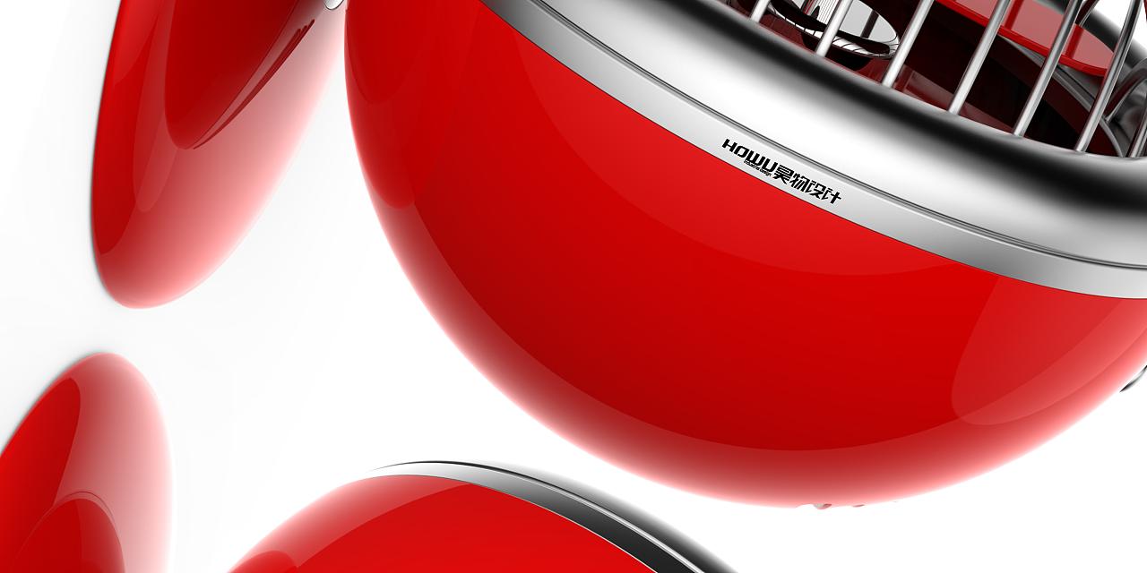 创意小风扇设计 工业/产品 电子产品 designsoso图片