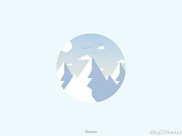 20151027.icon.《Blue,sky,Cloud》