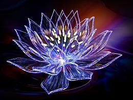 莲花C4D贴材质与光后期