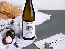 干白葡萄酒拍摄