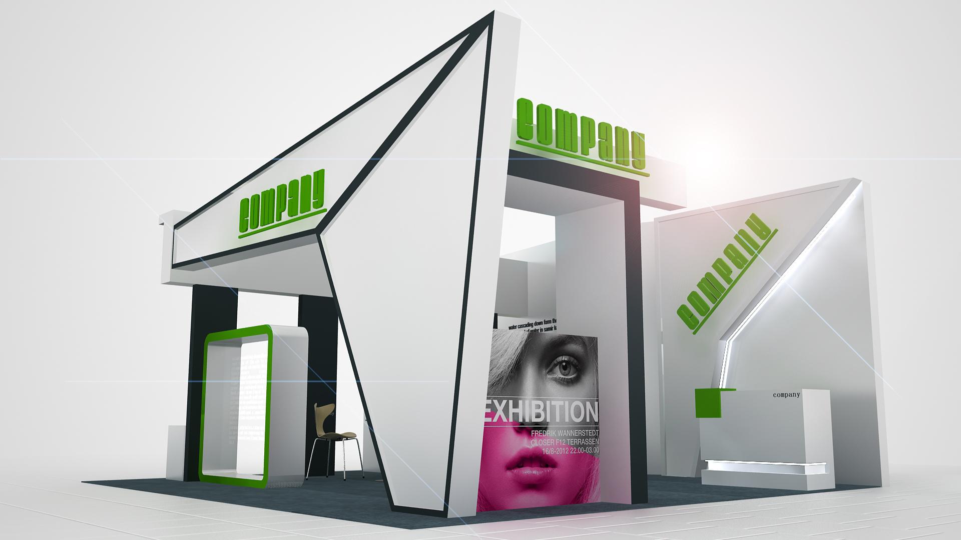 展位设计|空间|展示设计 |探索教育 - 原创作品