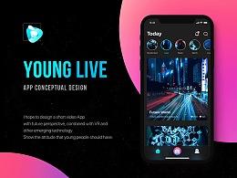 Young Live App Conceptual Design