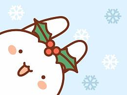 一窝兔子的圣诞节